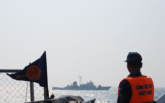 Vietnamese, Chinese coastguard check fishery agreement implementation