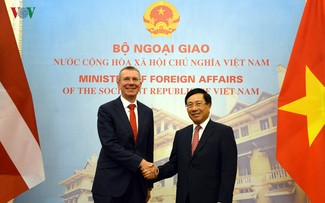 Vietnam, Latvia to strengthen economic, trade, investment ties