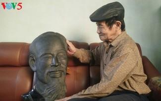 Уникальная угольная скульптура в провинции Куангнинь