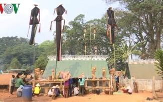 Jarai's unique Po Thi funeral custom