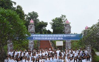 Young OVs visit Dinh Hoa Safety Zone