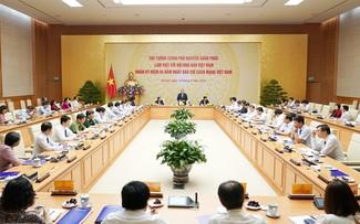 Нгуен Суан Фук провел рабочую встречу с Союзом вьетнамских журналистов