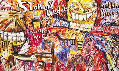 ภาพวาดที่มีราคาหลายพันล้านด่งของจิตรกรเลกิงต่าย