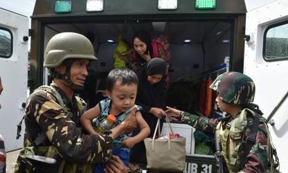 ฟิลิปปินส์ยืนยันว่า จะไม่เจรจากับกองกำลังของกลุ่มกบฎมุสลิม