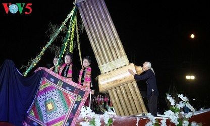 Muong Lo panpipe of the Thai
