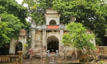 Lac-Tempel, ein historischer Ort in Thang-Long-Hanoi