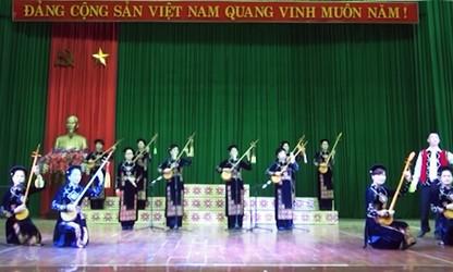 民謡「テン」に夢中になったチャン・タイン・アンさん