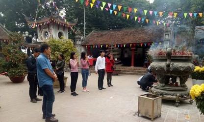 タンビェン神を祀るバー神社