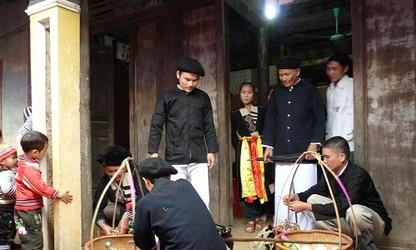 Hochzeitsfeier der Cao Lan in Bac Giang