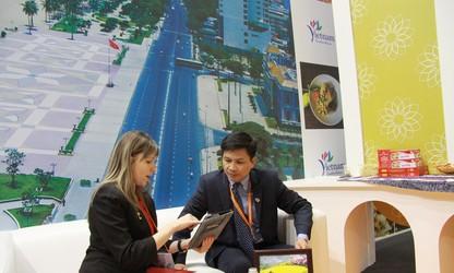 Вьетнамский стенд на Московской международной туристической выставке