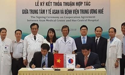 Hue 중앙 병원, 서울아산병원과  간 이식 협력 프로그램 진행