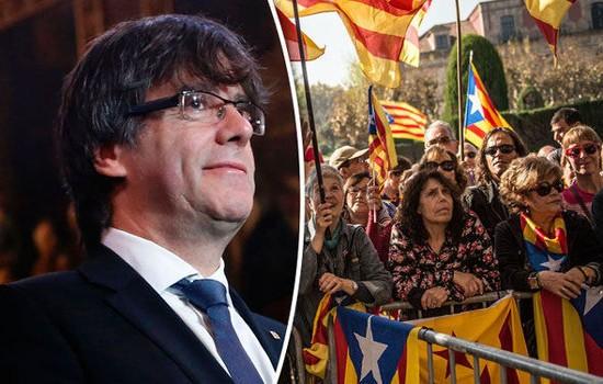 ແອັດສະປາຍ ຖະແຫຼງຈະຢຸດຕິສິດປົກຄອງດ້ວຍຕົນເອງຂອງເຂດ Catalonia