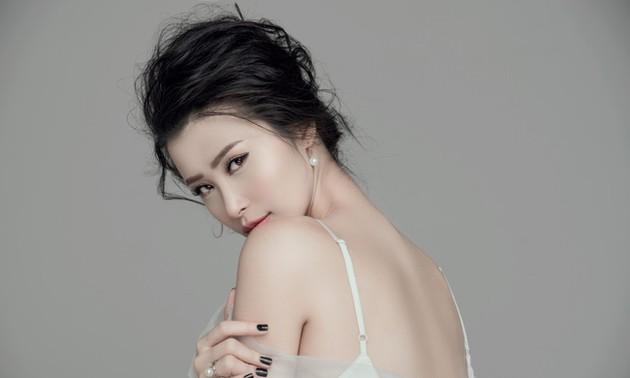 女性歌手ドン・ニー(Dong Nhi)の歌声