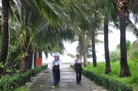 Nam Yet – eine Kokosnuss-Insel auf Truong Sa