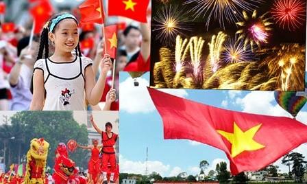 Celebracion del aniversario 40 de la reunificación de Vietnam en el mundo