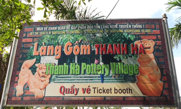 Desa kerajinan  keramik Thanh Ha