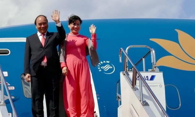 PM Vietnam, Nguyen Xuan Phuc memulai kunjungan resmi di Thailand