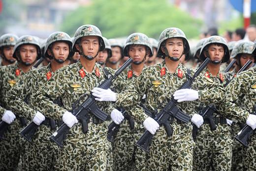 Memperkenalkan sepintas lintas tentang Tentara Rakyat Vietnam
