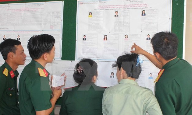 Ba Ria-Vung Tau holds early election at sea