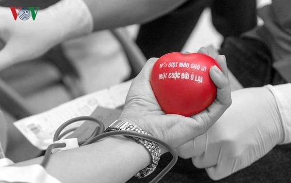 Hiến máu tình nguyện: chia sẻ yêu thương
