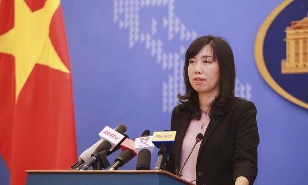 Vietnam fordert Respekt vor der Souveränität Vietnams gegenüber der Inselgruppe Truong Sa