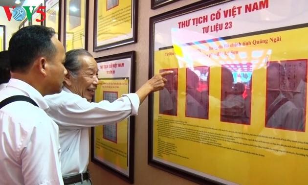 งานนิทรรศการเกี่ยวกับหมู่เกาะหว่างซาและเจื่องซาของเวียดนาม-หลักฐานทางประวัติศาสตร์และนิตินัย