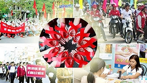 ฮานอยปฏิบัติกิจกรรมต่างๆที่เป็นรูปธรรมในเดือนปฏิบัติการเพื่อป้องกันและต่อต้านโรคเอดส์