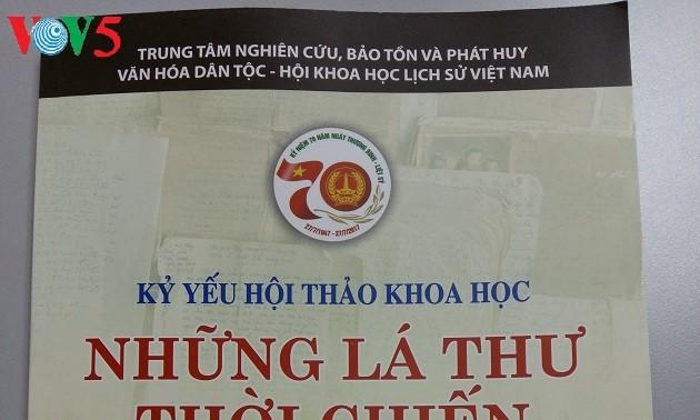 «Lettres de la guerre du Vietnam» ou l'aspiration à la paix des Vietnamiens