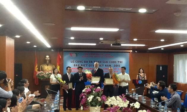 Remise des prix du concours «Que savez-vous du Vietnam 2015»