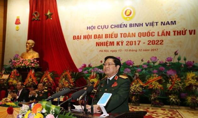 6th Congress of Vietnam War Veterans Association opens