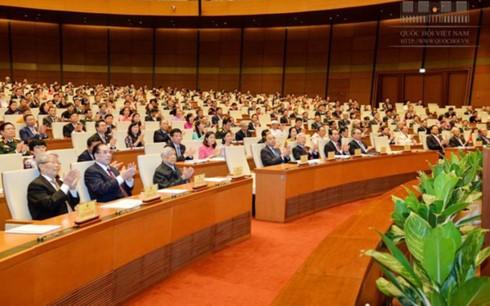 Eröffnung der 3. Parlamentssitzung