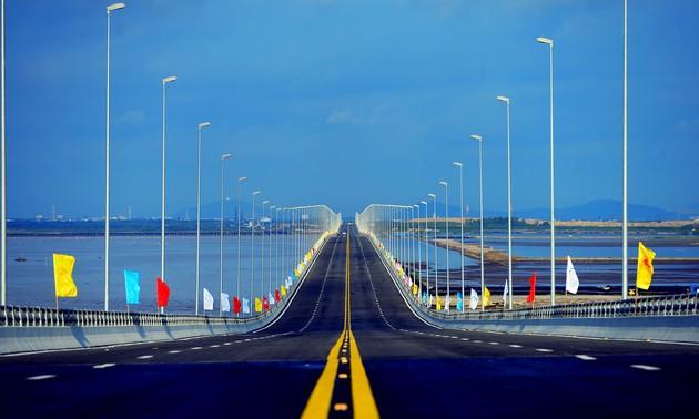 Projekt Tan Vu – Lach Huyen trägt zur Wirtschaftsentwicklung Nordvietnams bei