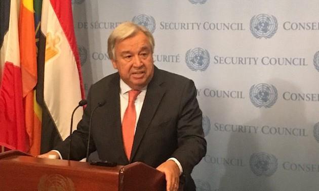 UN urges political measures for Venezuela