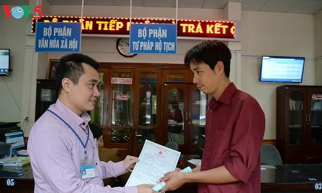 La provincia de Quang Ninh ayuda a los habitantes locales con servicios innovadores