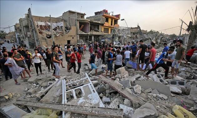 Double suicide bombing in Iraq kills five, injures 25