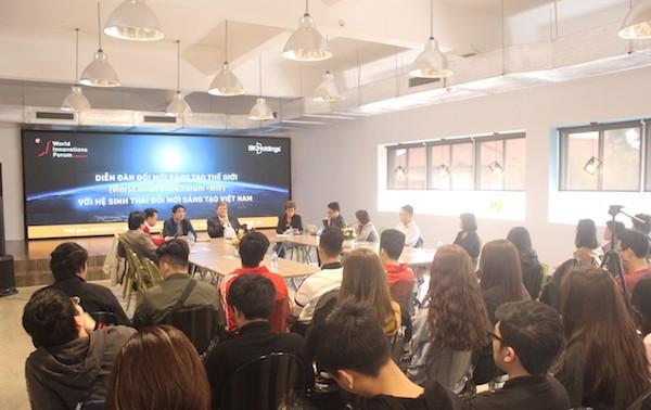 Melakukan usaha start-up untuk generasi muda Vietnam- Pengalaman dari para pakar inovasi kreatif