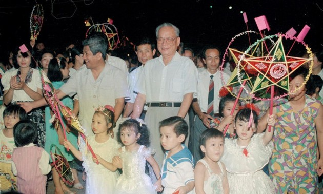 Impressive moments of Former President Le Duc Anh