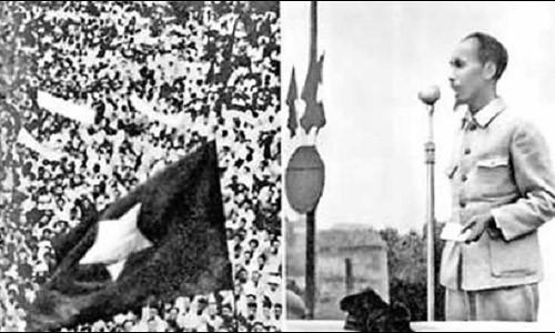 Archivbilder über Präsident Ho Chi Minh
