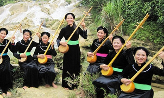 Tinh musical instrument of the Tay in Cao Bang