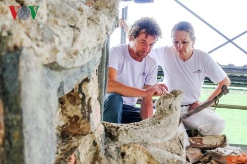 German conservationist's love for Hue heritages