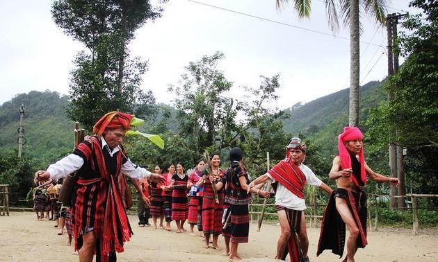 Aza, new rice celebration of the Pako