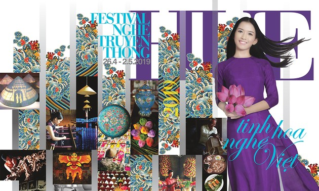 Hue Festival 2019: traditional crafts revive
