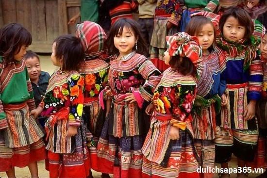 Costumes of Mong women in Ha Giang