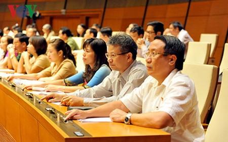 La liste des candidats aux postes importants de l'Assemblée nationale adoptée
