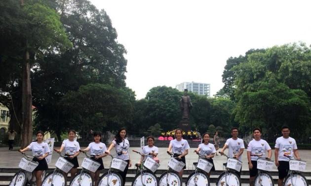 Suasana Asian Games 2018-Jakarta-Palembang Indonesia melanda luas di Ibu kota Ha Noi-Viet Nam