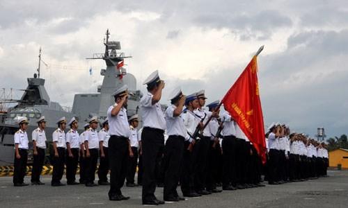 ベトナム人民海軍創設60周年記念の宣伝活動
