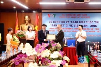 VOV、ベトナムに関するクイズコンクールの授賞式を