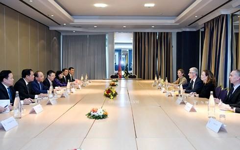 Le Premier ministre vietnamien reçoit les ministres-présidents de la Flandre et de la Wallonie