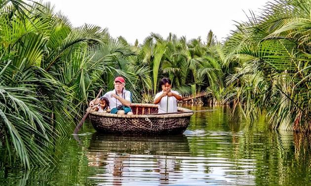 Hôi An et ses bateaux-paniers