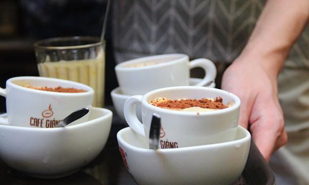 Nach dem USA-Nordkorea-Gipfel ist das Giang Café gut besucht